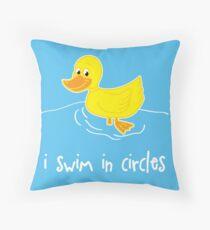 I Swim In Circles Floor Pillow