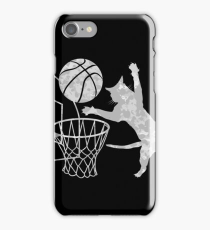 Slam Puss (Grey) iPhone Case/Skin