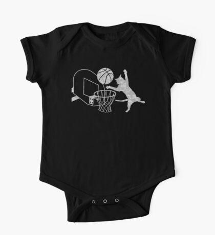 Slam Puss (Grey) Kids Clothes