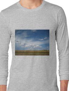 Nebraska Landscape Long Sleeve T-Shirt