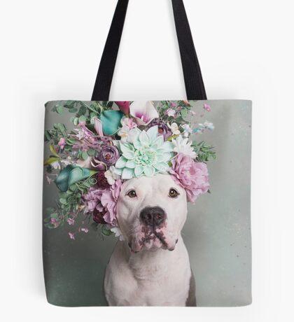 Flower Power, Houston Tote Bag