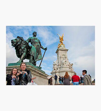 Queen Victoria Memorial: Buckingham Palace, London. UK. Photographic Print