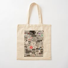 Wise Words From The Office - The Office Quotes (Variant) Cotton Tote Bag