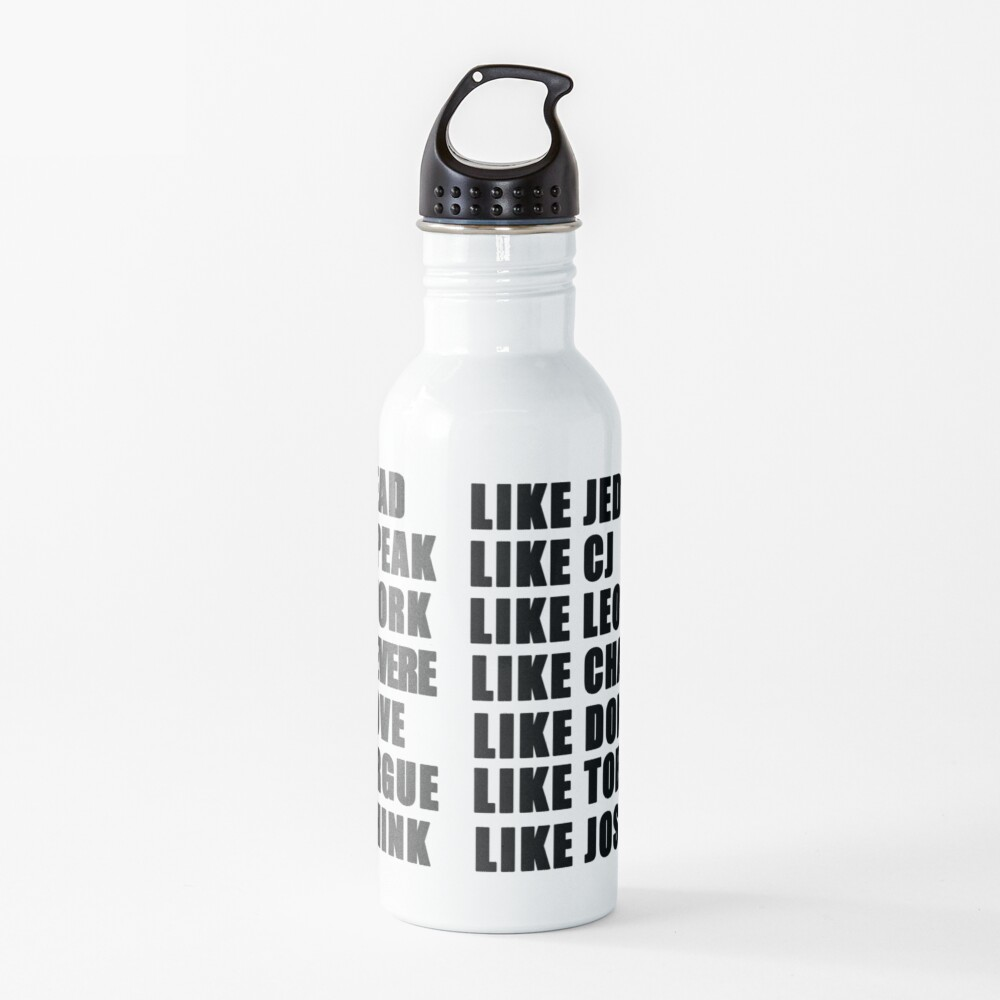 live like the west wing Water Bottle