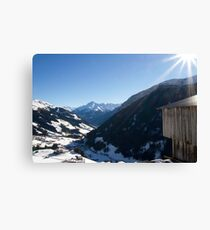 Tux Valley Canvas Print
