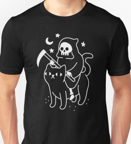 Death Rides A Black Cat T-Shirt