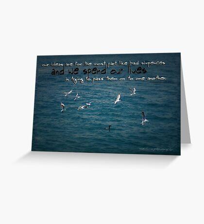 Life's Lessons © Vicki Ferrari Greeting Card