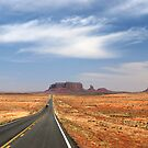 Highway to Monument Valley by Barbara Burkhardt