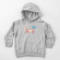 Crab Hands Toddler Pullover Hoodie