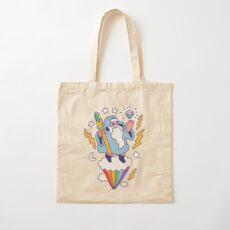 Wizard In The Sky Cotton Tote Bag
