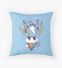 Wizard In The Sky Floor Pillow