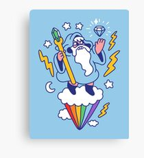 Wizard In The Sky Canvas Print