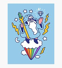 Wizard In The Sky Photographic Print