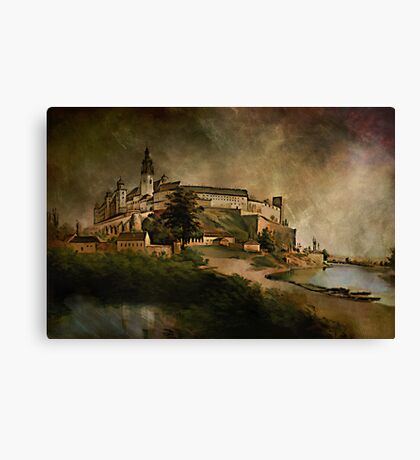 Wawel Castle, 1845 y Canvas Print