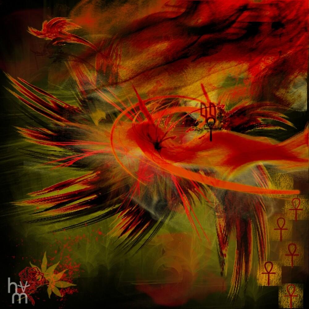 Blood Fire by helenamarais-me