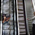 escalator stares by carol brandt