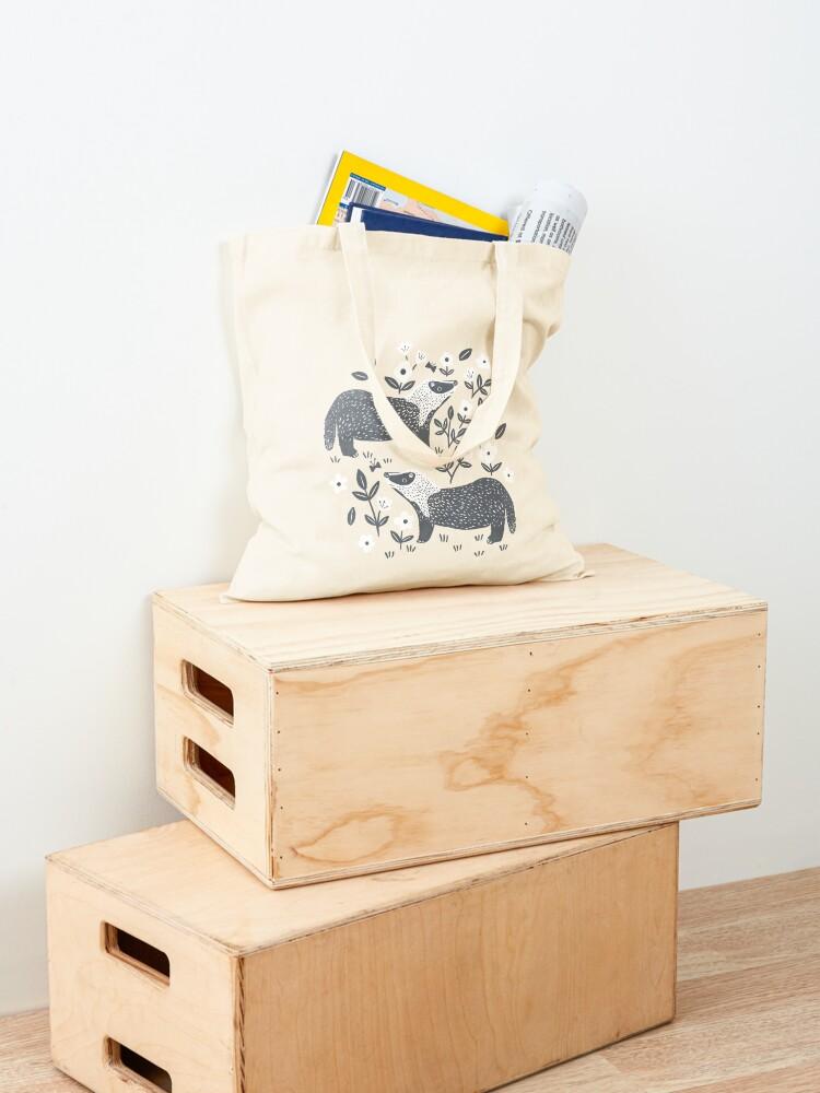 Alternate view of Badgers Tote Bag