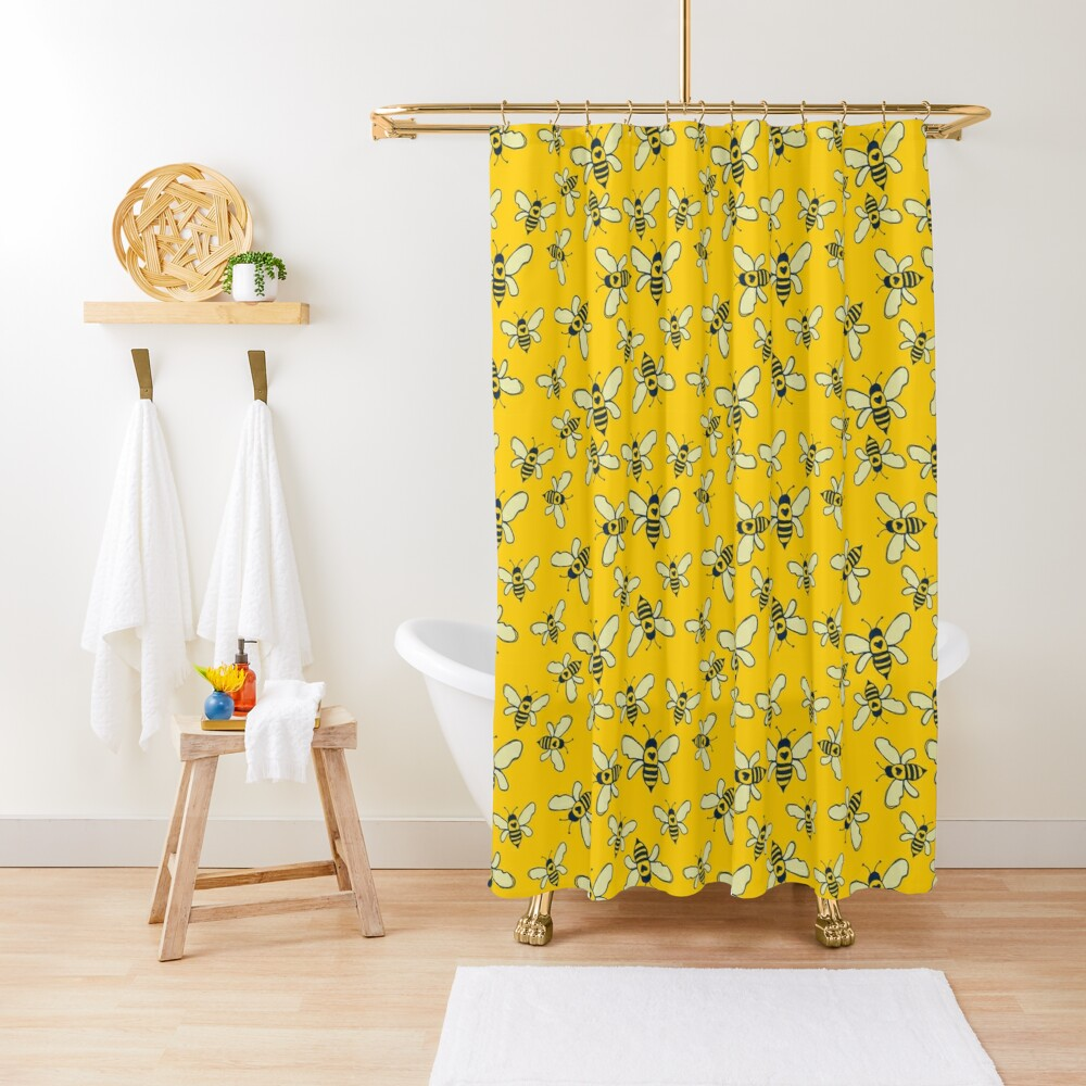 Honey Makers Shower Curtain