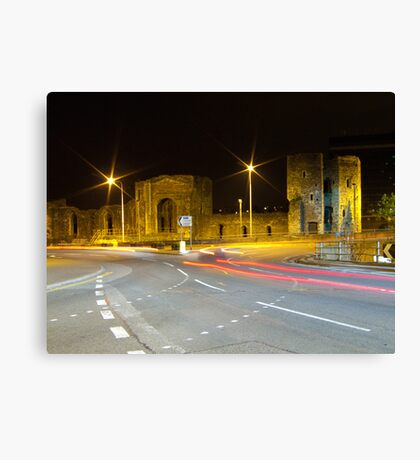 Newport Castle, Wales Canvas Print