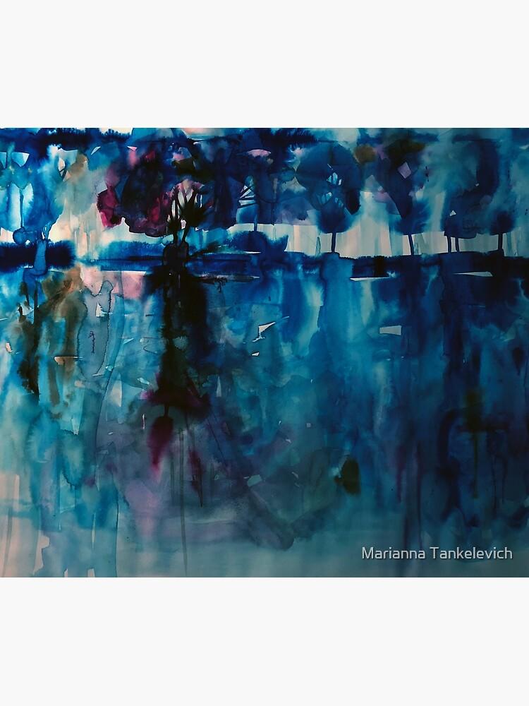 blue landscape by mariannat