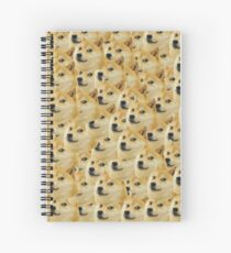 Many Doge Spiral Notebook