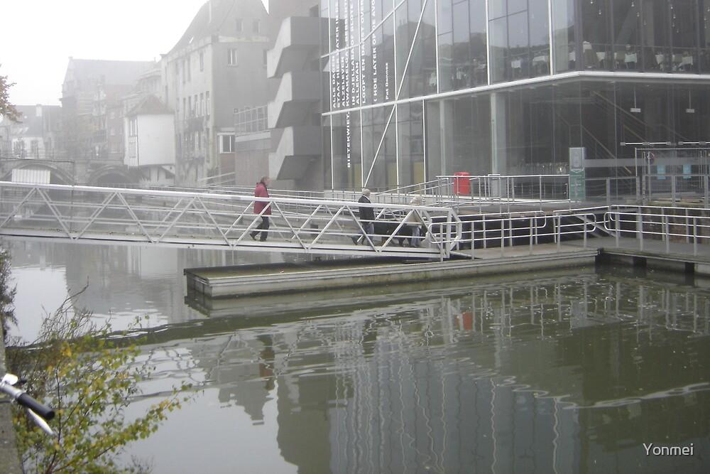 Bridge in the Mist by Yonmei