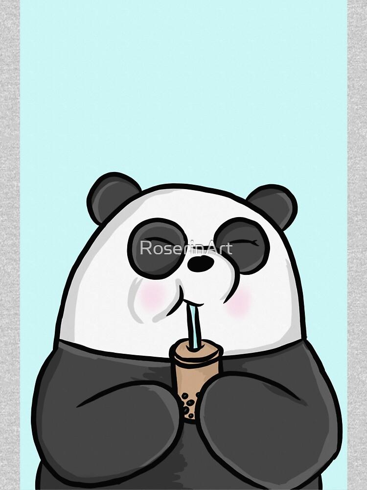 Happy Panda by RoserinArt