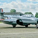 Gloster Meteor NF.11 WM167/M G-LOSM by Colin Smedley