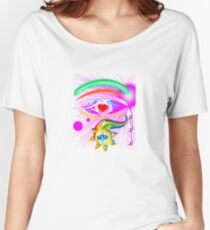 In The Eye Girl Women's Relaxed Fit T-Shirt