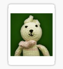 Knitted Character Sticker