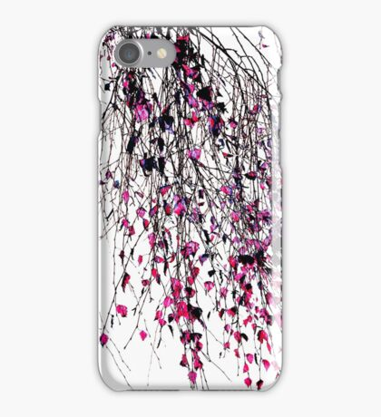 pink willow iPhone Case/Skin