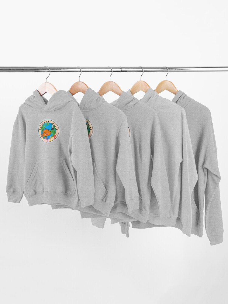 Alternate view of Refund the World - The Amazing World of Gumball Kids Pullover Hoodie