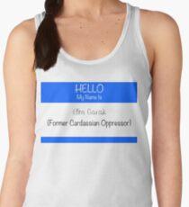 Former Cardassian Oppressor Women's Tank Top