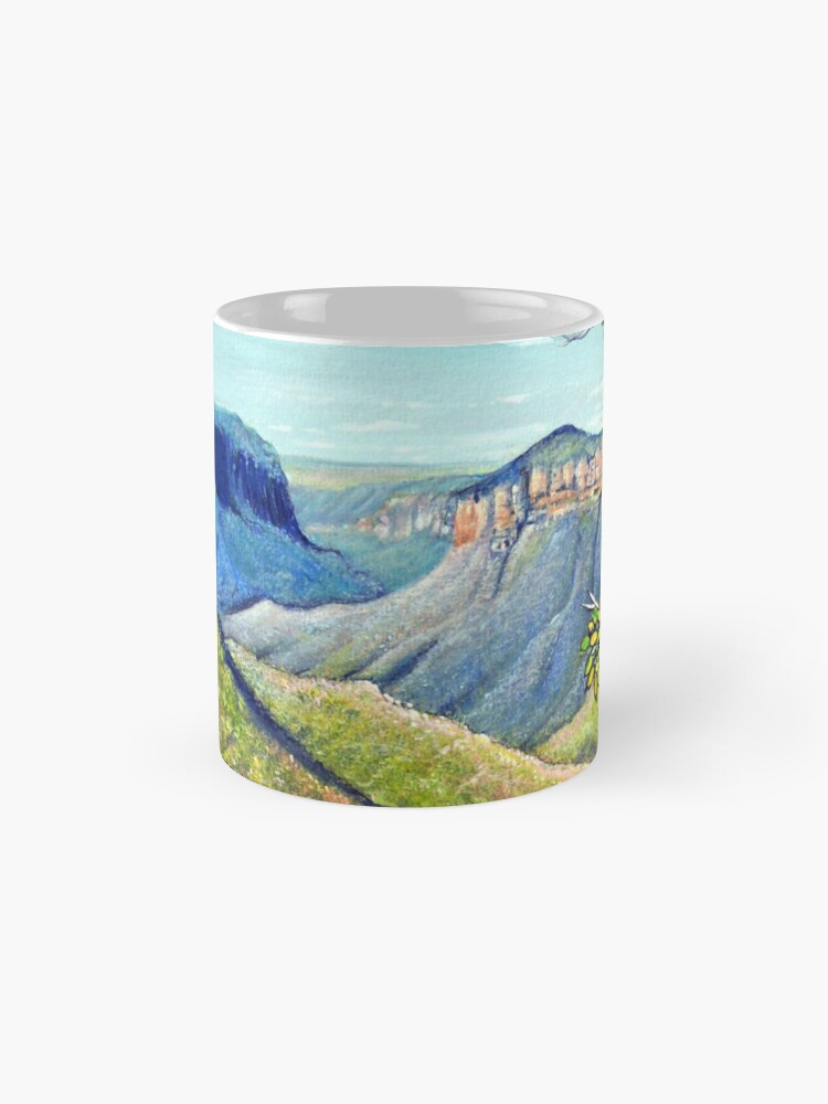 Alternate view of Govetts Leap Lookout, Blue Mountains Mug
