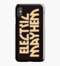 Electric Mayhem iPhone Case/Skin