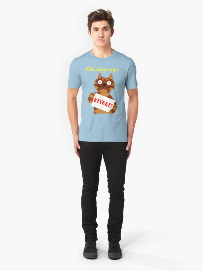 Alternate view of NDVH Revoke! Slim Fit T-Shirt