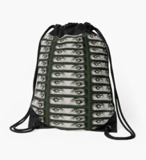 Emerald Eyes © Vicki Ferrari Drawstring Bag