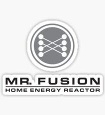 MR FUSION   Back to the Future Sticker