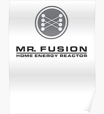 MR FUSION | Back to the Future Poster