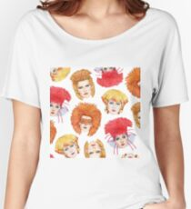 Four Faces of Toyah Women's Relaxed Fit T-Shirt
