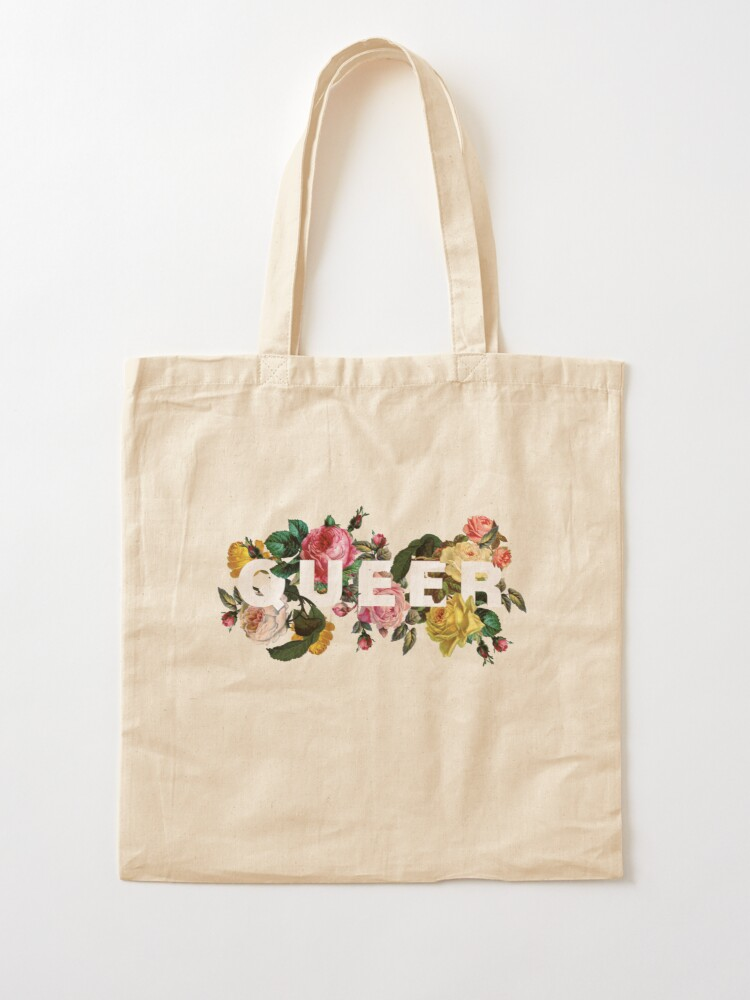Alternate view of Queer (Antique Roses) Tote Bag