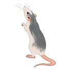 Curious Roan Rat (Midnight Blue) by KelseyBass