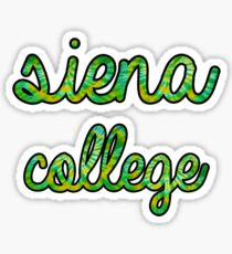 Siena College Tie Dye Sticker