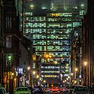 Snowhill At Night by Chris Fletcher