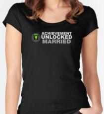 Achievement Unlocked Married Women's Fitted Scoop T-Shirt