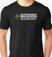 Achievement Unlocked Married Unisex T-Shirt