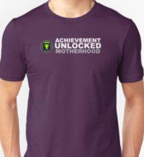 Achievement Unlocked Motherhood Unisex T-Shirt