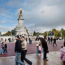 Queen Victoria Memorial: Buckingham Palace, London, UK. by DonDavisUK