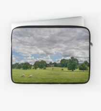 Sheep Grazing the Meadow Laptop Sleeve