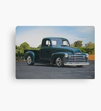 1953 Chevrolet 3100 Custom Pickup   Canvas Print